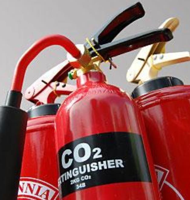Углекислотные огнетушители: